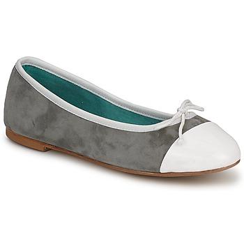Scarpe Donna Ballerine Les Lolitas FELL Bianco/grigio
