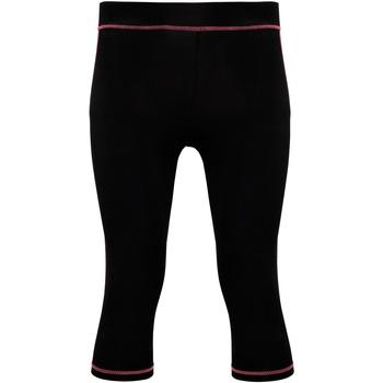 Abbigliamento Donna Leggings Tridri Tri Dri Nero/Rosa acceso