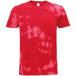 Abbigliamento T-shirt maniche corte Colortone TD09M Rosso