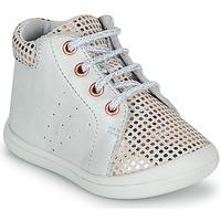Scarpe Bambina Sneakers alte GBB NAHIA Bianco