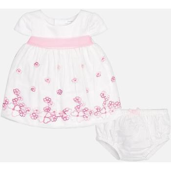 Abbigliamento Bambina Completo Mayoral ATRMPN-21013 Bianco