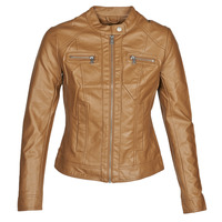 Abbigliamento Donna Giacca in cuoio / simil cuoio Only ONLBANDIT Cognac