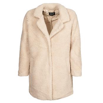 Abbigliamento Donna Cappotti Only ONLAURELIA Beige
