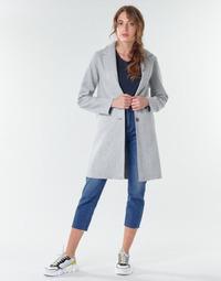Abbigliamento Donna Cappotti Only ONLCARRIE BONDED Grigio