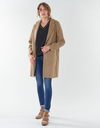Abbigliamento Donna Cappotti Only ONLCARRIE BONDED Camel