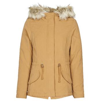 Abbigliamento Donna Parka Only ONLNEW LUCCA Camel