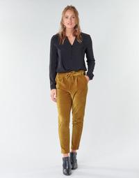 Abbigliamento Donna Chino Only ONLPOPTRASH Camel