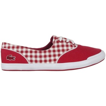 Scarpe Donna Sneakers basse Lacoste Lancelle Lace 3 Eye 216 1 Spw Bianco, Rosso