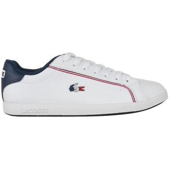 Scarpe Uomo Sneakers basse Lacoste Graduate 119 3 Sma Bianco, Blu marino
