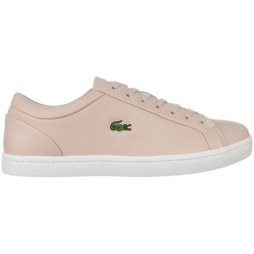 Scarpe Donna Sneakers basse Lacoste Straightset Lace 317 3 Caw Beige