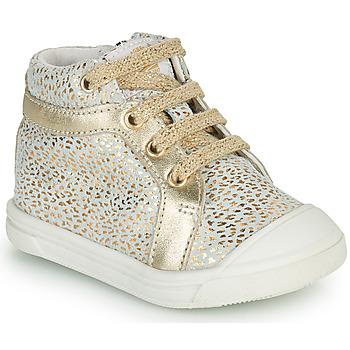 Scarpe Bambina Sneakers alte GBB NAVETTE Oro