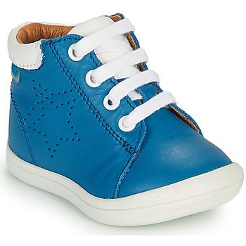 Scarpe Bambino Sneakers alte GBB BAMBOU Blu