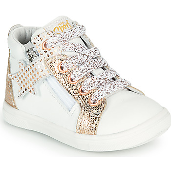 Scarpe Bambina Sneakers alte GBB VALA Bianco