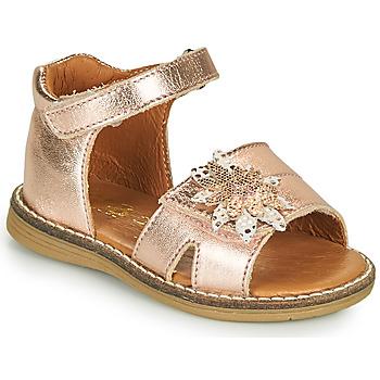 Scarpe Bambina Sandali GBB SATIA Rosa / Oro
