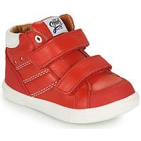Scarpe Bambino Sneakers alte GBB MORISO Rosso