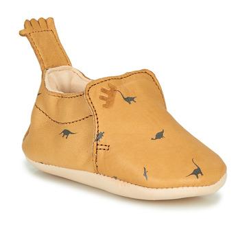Scarpe Unisex bambino Pantofole Easy Peasy BLUMOO Cognac