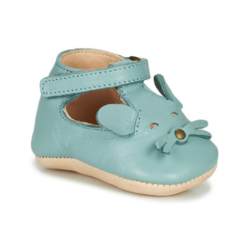 Scarpe Unisex bambino Pantofole Easy Peasy LOULOU MOUSE Blu