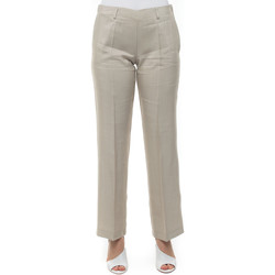 Abbigliamento Donna Pantaloni morbidi / Pantaloni alla zuava Maria Bellentani 1362-3601747 Beige