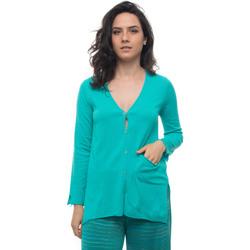 Abbigliamento Donna Gilet / Cardigan Maria Bellentani 5101-6001800 Acquamarina