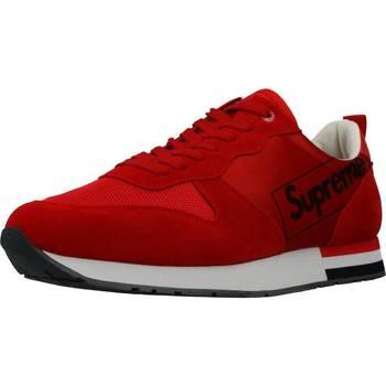 Scarpe Uomo Sneakers basse Supreme Grip 027001 Rosso