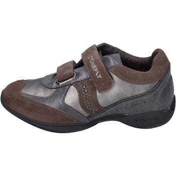 Scarpe Bambina Sneakers basse Stonefly BK32 Grigio