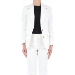 Abbigliamento Donna Giacche / Blazer Manuel Ritz Donna 2836GD005-204026 Blazer Donna Bianco Bianco