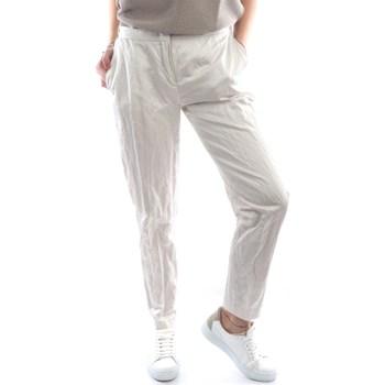 Abbigliamento Donna Pantaloni 5 tasche Fabiana Filippi PAD270W771-A921 Classici Donna Ghiaccio Ghiaccio
