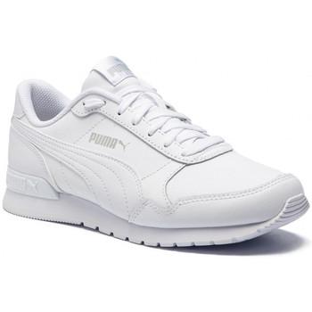 Scarpe Unisex bambino Sneakers basse Puma ATRMPN-21090 Bianco