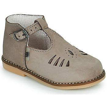 Scarpe Bambina Sneakers alte Little Mary SURPRISE Grigio