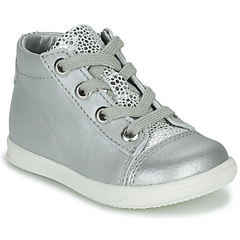 Scarpe Bambina Sneakers alte Little Mary VITAMINE Argento