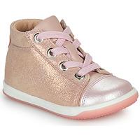 Scarpe Bambina Sneakers alte Little Mary VITAMINE Rosa