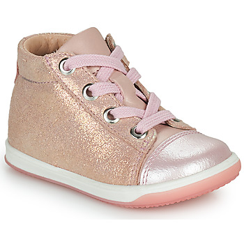 Scarpe Bambina Sneakers alte Little Mary VITAMINE Rosa