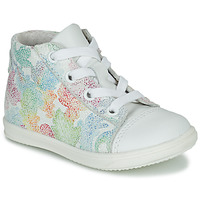 Scarpe Bambina Sneakers alte Little Mary VITAMINE Bianco