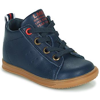 Scarpe Bambino Sneakers alte Little Mary LEON Blu