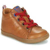 Scarpe Bambino Sneakers alte Little Mary LEON Marrone