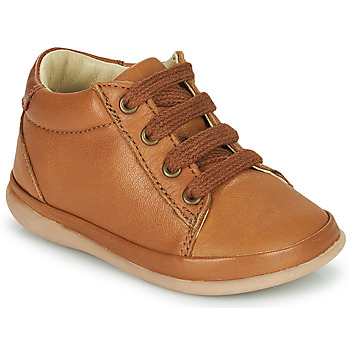 Scarpe Bambina Sneakers alte Little Mary GAMBARDE Marrone