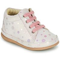 Scarpe Bambina Sneakers alte Little Mary GAMBARDE Rosa