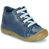 Scarpe Unisex bambino Sneakers alte Little Mary GOOD Blu