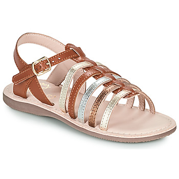 Scarpe Bambina Sandali Little Mary BARBADE Marrone