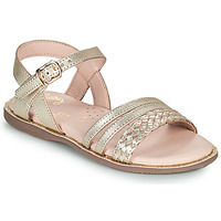Scarpe Bambina Sandali Little Mary LIME Oro