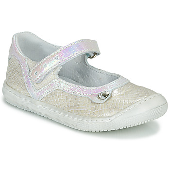 Scarpe Bambina Ballerine Little Mary BRILLANTE Ecru