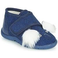 Scarpe Unisex bambino Pantofole Little Mary KOALAVELCRO Blu