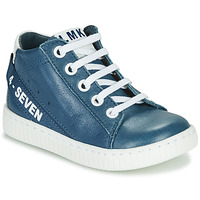 Scarpe Bambino Sneakers alte Little Mary LUCKY Blu