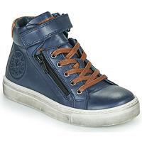 Scarpe Bambino Sneakers alte Little Mary FIRST Blu