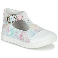 Scarpe Bambina Sandali Little Mary VALSEUSE Bianco / Multicolore