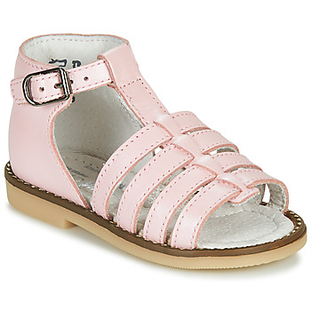 Scarpe Bambina Sandali Little Mary HOLIDAY Rosa