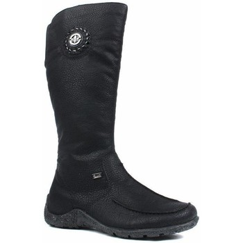 Scarpe Donna Stivali Rieker Grecia Luxor Boots Black
