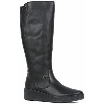 Scarpe Donna Stivali Rieker Stivali di ricino Black