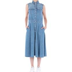 Abbigliamento Donna Abiti lunghi Roy Rogers P20RND458D2971432 Di Jeans Donna Denim Denim