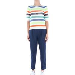 Abbigliamento Donna Felpe Manuel Ritz Donna 2836MD-204050 A Righe Donna Multicolore Multicolore